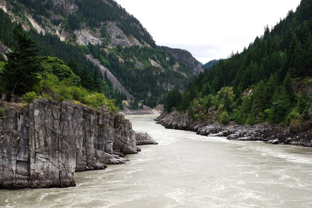 Fraser Canyon and river