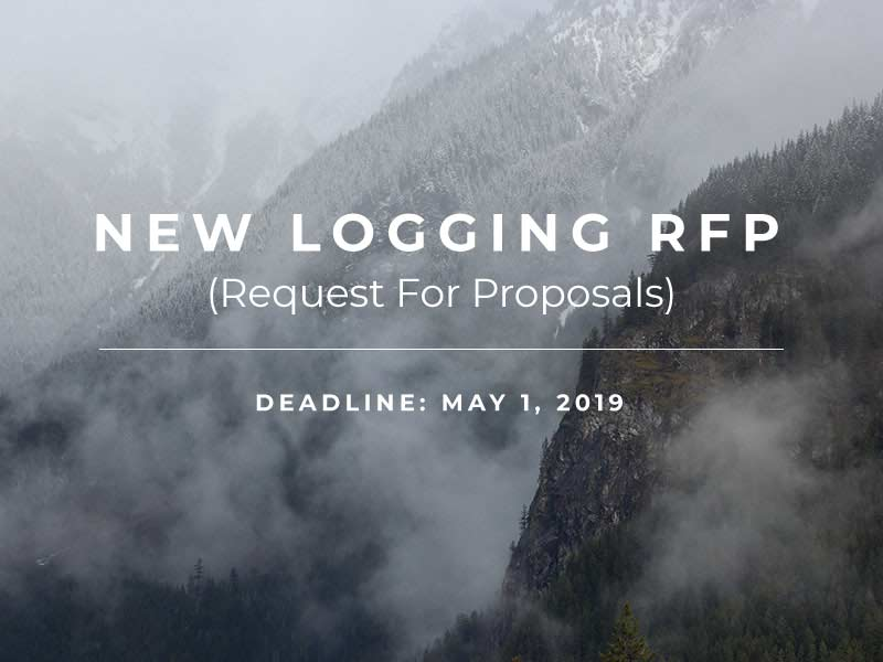 CLCCF 2019-1 Logging RFP, Expired  – CLC Community Forest